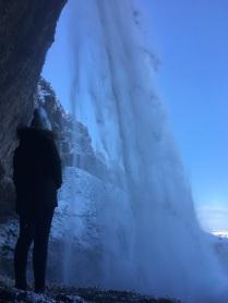 Behind Sejlandafoss