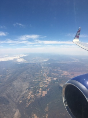 Views landing into Cape Town