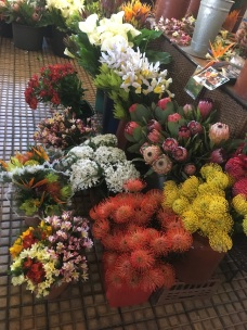 Flowers in Funchal market