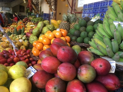 Fresh fruit in the market