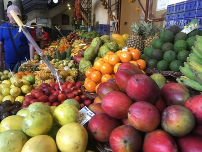 Vegetables in Funchal market